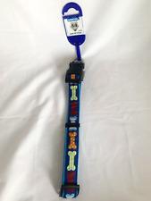 Ancol Blue Bone Dog Collar 45-70cm