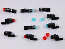 LEGO Star Wars laser blaster x10 RED + BLUE mini shooter weapon cannon