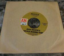 45 rpm record julius wechter & the baja marimba band/brasilia, yes sir,that's...