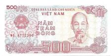VIETNAM 500 Dong ~ P- 101a ~ UNC from 1988; H.C. Mign; FREE SHIPPING Canada / US