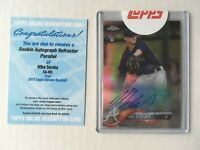 2018 Topps Chrome MIKE SOROKA refractor auto /499 RC rookie autograph SEALED +