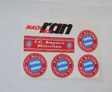 5x FC Bayern München Aufkleber + 1x Mach Dich ran Aufkleber von Ran Sat1Fussball