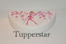 Tupperware Pausenbuffet Box Brotdose Lunchbox Mädchen mit Blumen