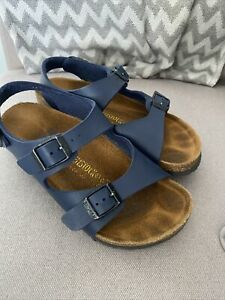 Kids Birkenstocks Sandals **Size 13/31** Blue