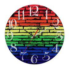 Gay Pride Stonewall Wall Clock Battery Operated