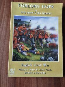 Forlorn Hope - PARTIZAN PRESS - ECW (English Civil War) Wargames rules