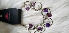 Woman's Adjustable Bracelet - Purple