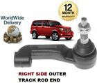 FOR DODGE NITRO 2.8DT 3.7i 2007 > NEW RIGHT RH OUTER TRACK TIE RACK ROD END