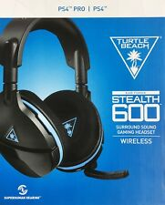 Turtle Beach Stealth 600 Wireless Surround Sound Gaming Headset for PS4  UD READ