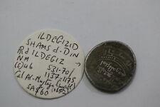 GHAZNAVID ILDEGIZID SHAMS AL-DIN 1137 - 1175 AR RARE B18 #9283