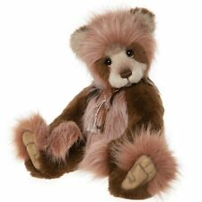 """DENISE CHARLIE BEARS 2020 PLUMO BEAR  * 19"""" NEW WITH TAGS"""