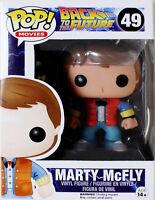*NEW* BACK TO THE FUTURE Marty McFly Pop! Vinyl Figure #49 Movie Vinyl - Funko