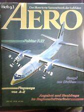 AERO  Heft 93   Das illustrierte Sammelwerk der Luftfahrt   in Schutzhülle