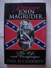 PRINCE JOHN MAGRUDER: HIS LIFE AND CAMPAIGNS, CIVIL WAR, CONFEDERATE FLAG COVER