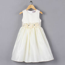 Cotton Blend Formal Dresses (2-16 Years) for Girls