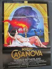 FELLINI'S CASANOVA - Filmplakat A1 - Donald Sutherland