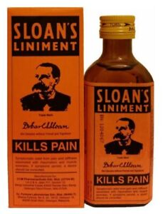 SLOAN'S Liniment Original Pain Relief For Muscle Pain,- 70ml