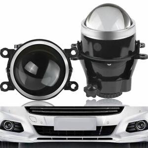 Pair 3 inch HID Bi-xenon Projector Lens Hi/Lo Beam Fog Light H11/H8/H9 For Valeo