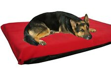 Cosipet X Large W/proof Foam Pad Red  Fleece Dog Bed Free Spare Cover