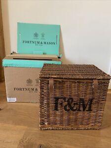 Fortnum and Mason Hamper Basket Large BRAND NEW! Hamper, Storage, Coffee Table