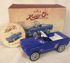 Hallmark Kiddie Car Classics 1965 Blue Ford Mustang Limited Edition Car Gift Nib