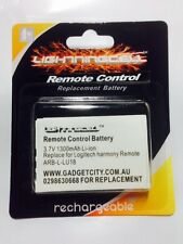 L-LU18 replacement Logitech Harmony Remote Battery Harmony 1000 1100 1100