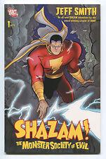 """Shazam 1 Of 4 - """"The Monster Society Of Evil"""" - 2007 (Grade 9.2)"""