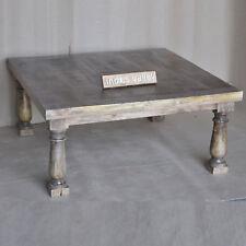 CARLTON modern solid hard wood timber square coffee table lounge 100cm TEAK