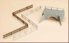 AUHAGEN HO scale ~ SMALL FOOTBRIDGE ~ 1/87 plastic model kit # 42555
