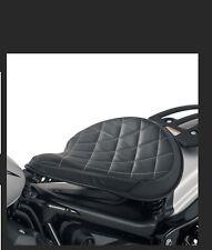 YAMAHA BOLT R-SPEC SPRINGER BOBBER SOLO SEAT 2014-2016 BLACK TAN DIAMOND STITCH
