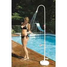 Poolside PVC Shower Outdoor Connect Standard Garden Hose with Foot Wash Spigot