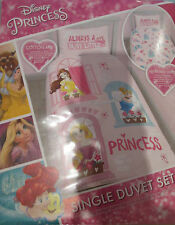 Disney Princess Duvet Cover For Single Bed With Pillow Case    NEW & SEALED