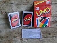 Original UNO Card Game Sealed