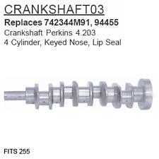 Crankshaft03 Massey Ferguson Parts Crankshaft Perkins 4.203 255