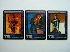 2003 ARTBOX TERMINATOR 2 FILMCARDZ COMPLETE 3 CARD *BOX TOPPER* CHASE SET