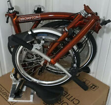 2020 Brompton S2L Flame Lacquer fold bike £38 UK 🌎wide📮📦📪📩 *P&P*