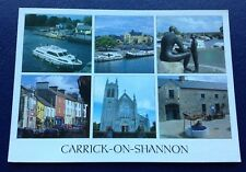 POSTCARD: CARRICK - ON - SHANNON: MULTI SCENE: USED BUT NOT POSTED