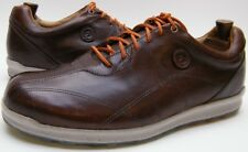 MENS FootJoy Versaluxe 57253 Caramelo BRN Leather SPIKELESS Golf Shoes SZ 12 XW
