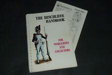 The Hinchliffe Handbook for Wargamers & Collectors 1976 & Pricelist Zinnfiguren