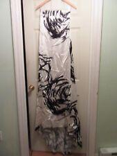 Ann Taylor Formal/Wedding Gown White/Black NWT Size 8