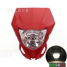 Universal Enduro Front Headlight Head Lamp Fairing For Honda XR 250 R XR 400 R