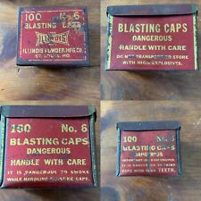 Illinois  Blasting Caps Tin