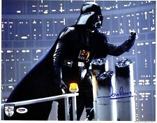 DAVE PROWSE Signed Darth Vader STAR WARS 11x14 OfficialPix Photo PSA/DNA #V50137