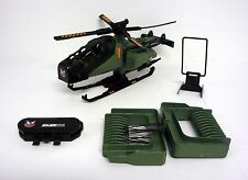 GI JOE RAZOR BLADE Vintage Action Figure Vehicle Helicopter 95% COMPLETE 1994