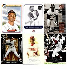 Frank Robinson 6 dif Lot: 2011 Topps Marquee, 2001 Fleer Greats of the Game GOG+