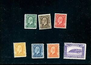 LOT 82690 MINT H 195 - 201 KING GEORGE V MEDALLION ISSUE