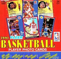 1991-92 Fleer Basketball Complete Your Set Pick 25 Cards From List