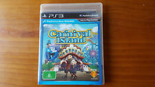 PS3 CARNIVAL ISLAND - VGC - COMPLETE WITH MANUAL - PAL AUS VERSION - PLAYSTATION