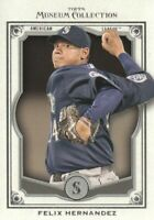 2013 Topps Museum Collection Baseball #24 Felix Hernandez Seattle Mariners