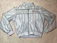 Indiana Deaf Hoosiers Athletics Jacket Rainguard Holloway Mesh Lined Mens Size M Activewear